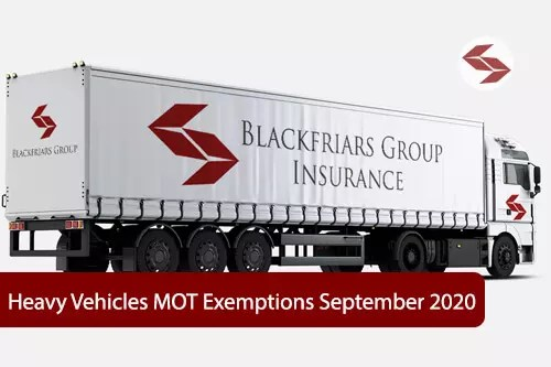 heavy vehicles MOT exemptions