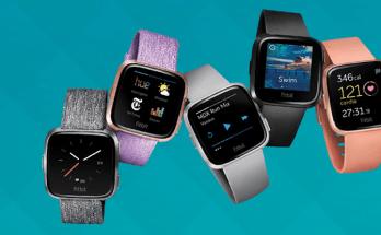 Fitbit Versa Smart Watch Black Friday Deal