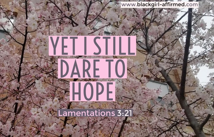Dare to hope