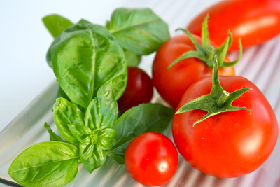 Image result for photos of tomatoes and basil