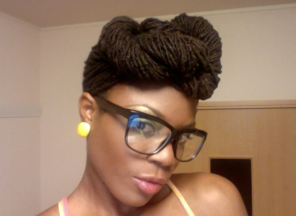 Hair Style Japan: Synethia In Japan // Natural Hair Style Icon