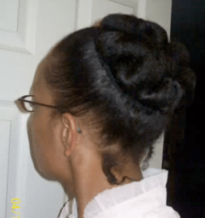 quick-easy-styles-for-short-natural-hair-the-bunned-updo