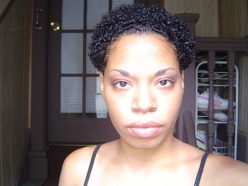 3b Short Hairstyles: Denys // 3C Natural Hair Style Icon