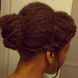 Natural Hair Style Black Hair Week Old Wash And Go