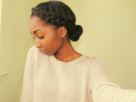 Admirable 5 Ways To Do Milk Maid Halo Crown Goddess Braids On Natural Hair Short Hairstyles Gunalazisus