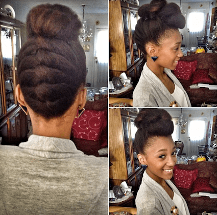 Pleasing Nicollette Transitioning Natural Hair Style Icon Black Girl Short Hairstyles Gunalazisus