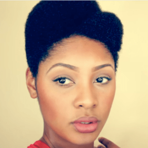 Asymmetrical Afro Natural Hair Sistas