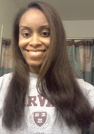 Professionally Straightened Hair