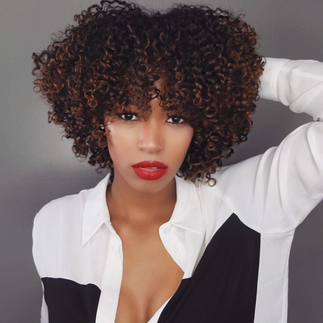 5 Medium Length Afros You'll Love