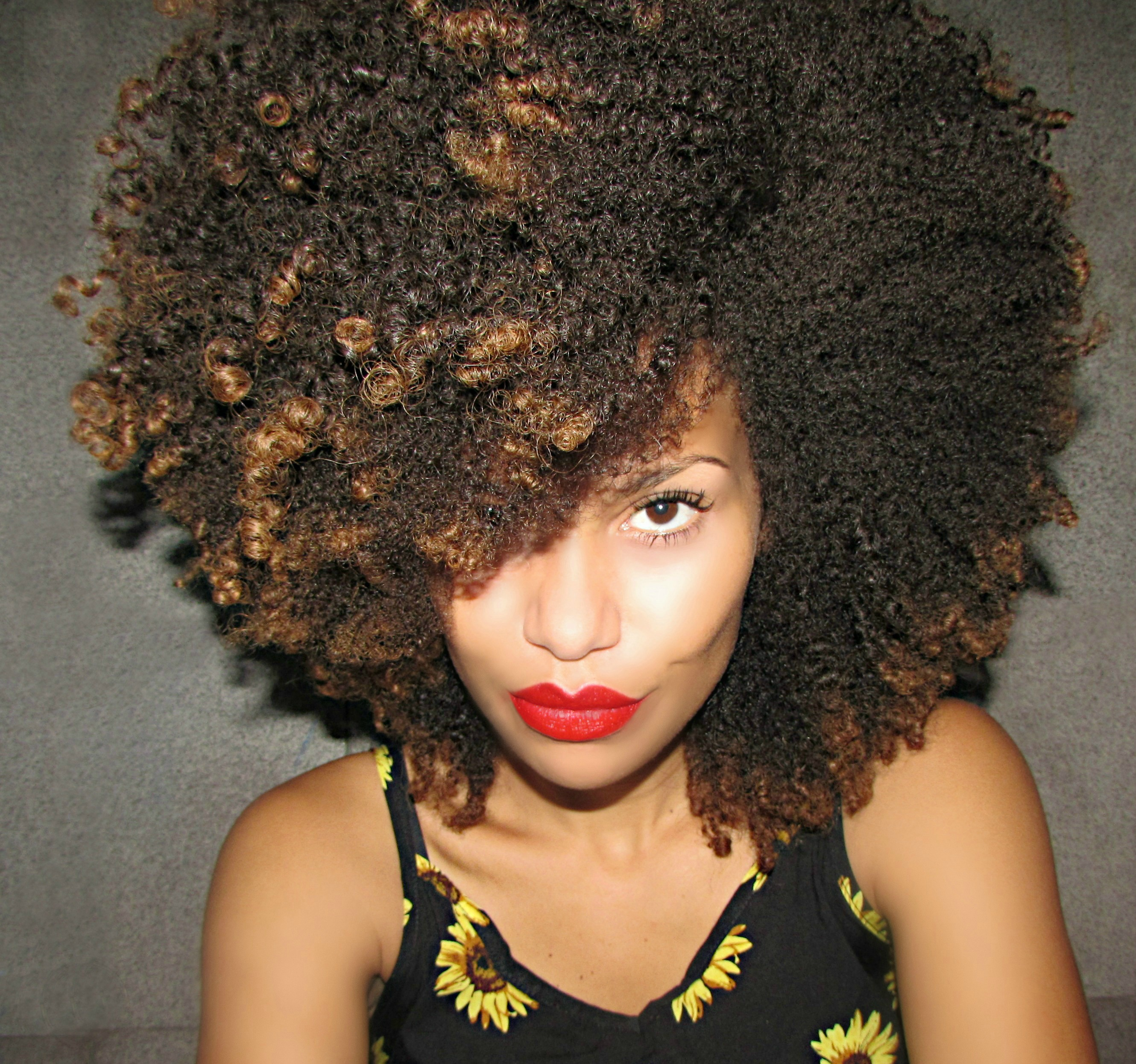 Loana from Sao Paulo // 3C/4A Natural Hair | Black Girl with Long Hair