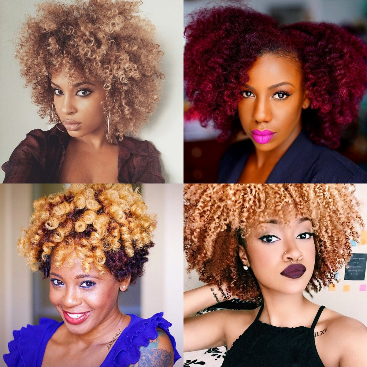 7 Natural Instagrammers Who Dyed Their Hair But Maintained
