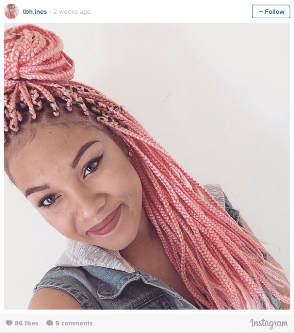 16 Stunning Photos Of Colored Box Braids The Summer Protective Style Trend Taking Over