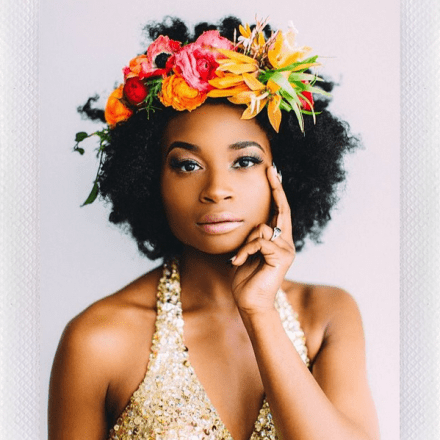 14 Times Naturals Rocked The Heck Out Of A Flower Crown