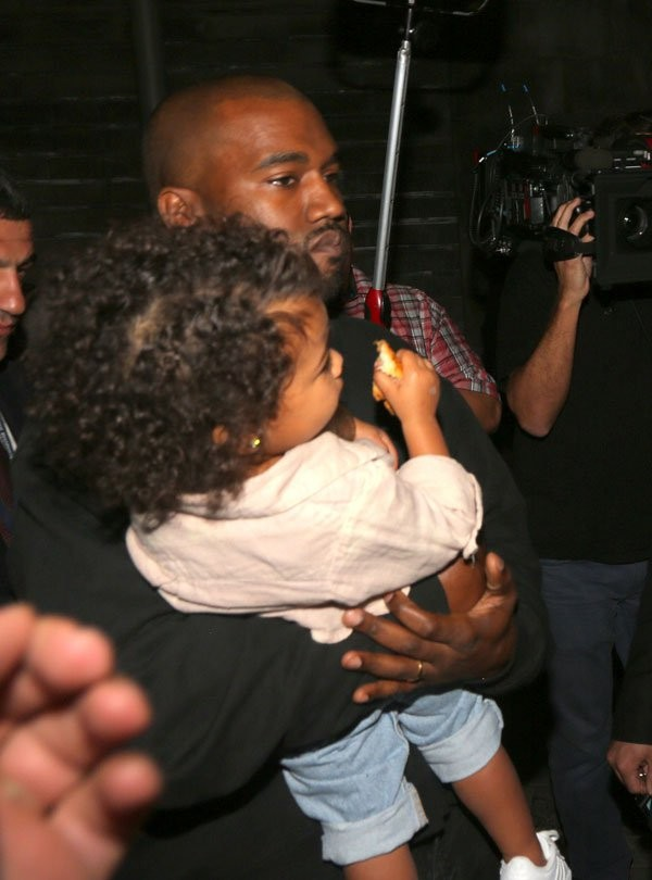 Kim Kardashian Refers To Daughter North Wests Hair As A