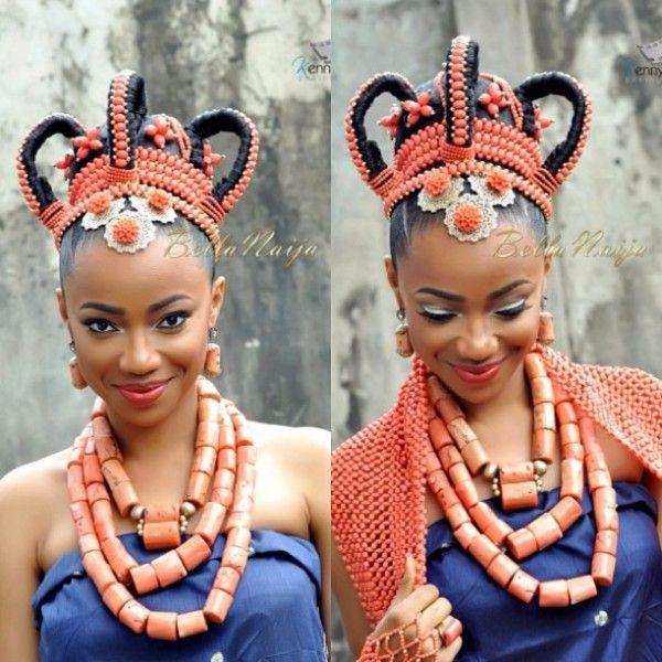 11 Stunning Traditional Nigerian Wedding Hairstyles -4720
