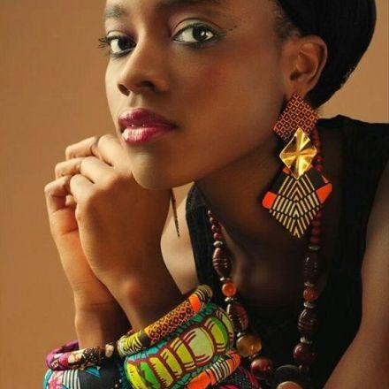 african print bracelets