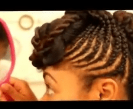 how to make style hair 4 creative cornrow updos on hair black with 4671 | IMG 4671