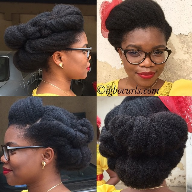 Chinwe From Nigeria Type 4 Natural Hair Icon Black