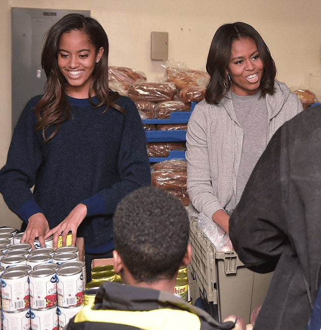 June 21 2015 Malia Sasha And Michelle Obama Leaving: All American Girl: First Daughter Malia Obama Turned 17 On