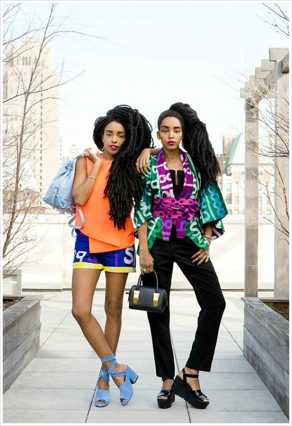 6 Sets Of Natural Twins Slaying The Style Game Black