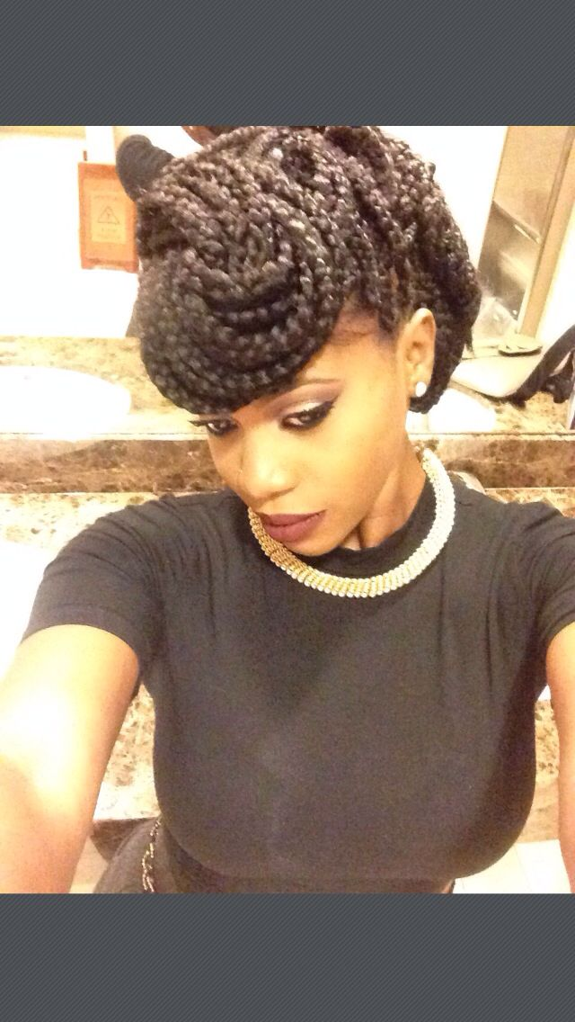ways to style black hair 10 gorgeous ways to style box braids black with 6278