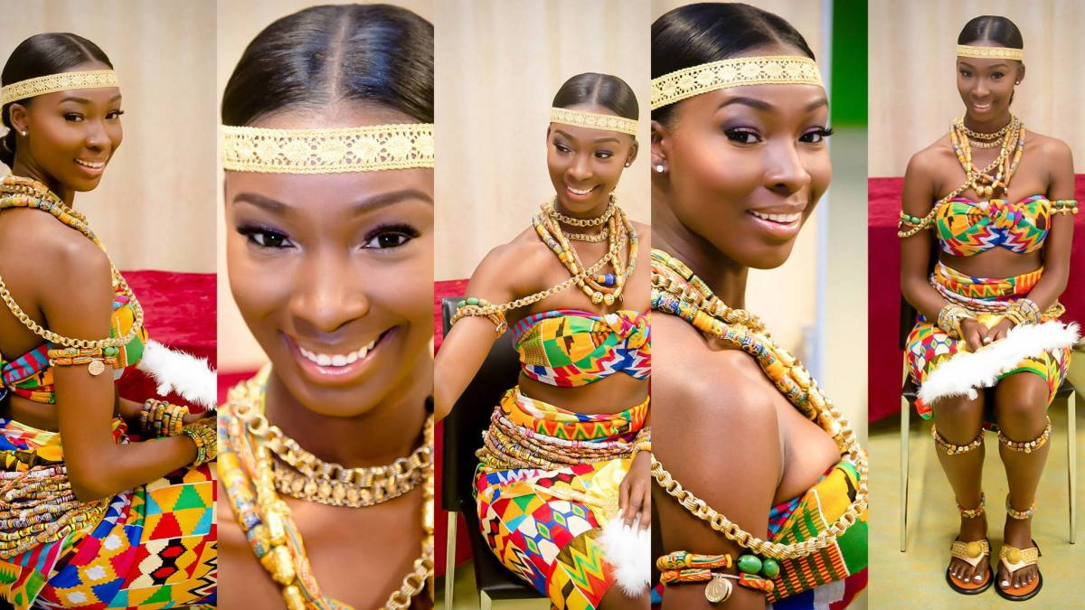 #LifeGoals: Ghanaian Woman Celebrates 25th Birthday in Stunning Traditional Attire