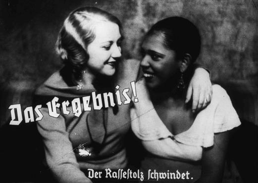 Nazi propaganda photo