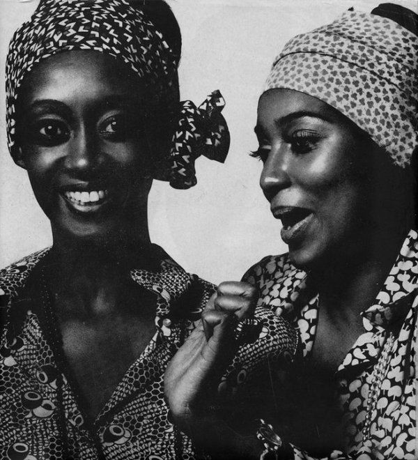 The legendary Princess Elizabeth of Toro, and Charlene Dash, 1969. Harper's. Image Source: Tumblr