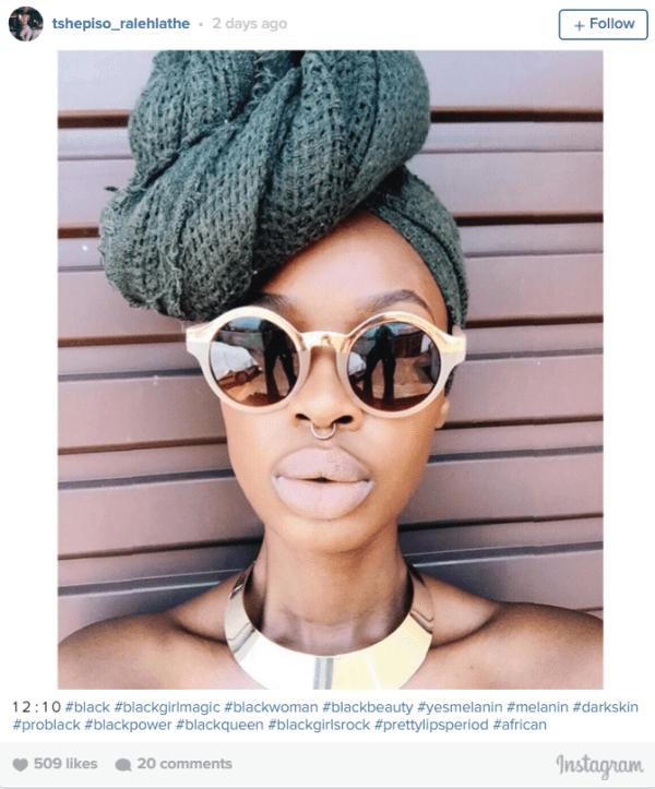 Pics Black Women Are Sharing Their Big Lip Pics On