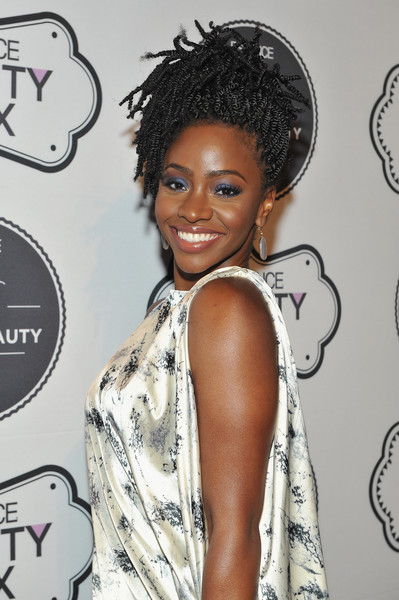 Actress Teyonah Parris attends the ESSENCE Best In Black Beauty Awards Carnival on April 21, 2016 in New York City. (April 20, 2016 - Source: D Dipasupil/Getty Images North America)
