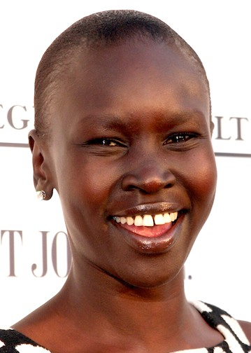 ALEK WEK AT THE LAUNCH OF HER NEW BOOK, ALEK WEK'S NEW AUTOBIOGRAPHY 'ALEK: FROM SUDANESE REFUGEE TO INTERNATIONAL SUPERMODEL, Alex Wek in 2007. Photo: Caroline Torem CRAIG/LFIANA