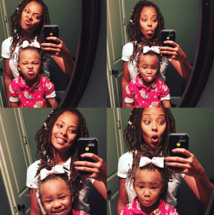 Pics Eva Marcille Is Locing Her 2 Year Old Daughter