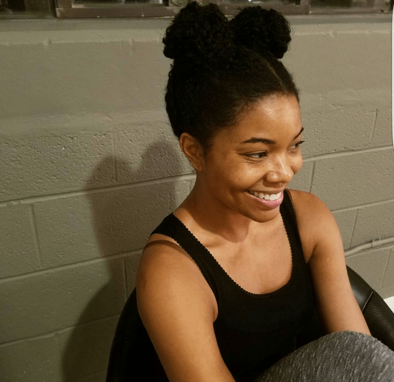 Here is a Series of Photos of Gabrielle Union in Afro Puffs