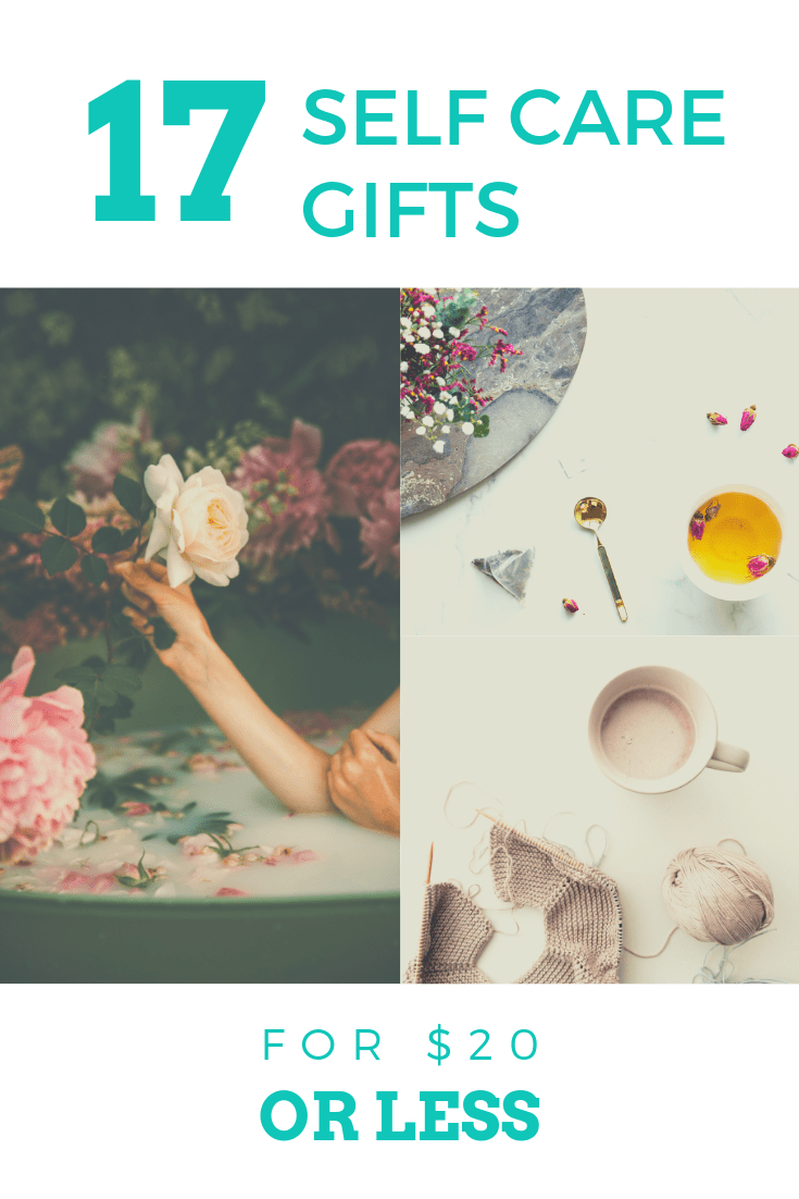 Self-care gifts are so necessary to keep us focused on prioritizing ourselves, but they can quickly get expensive. Take care of yourself for $20 (or less)!