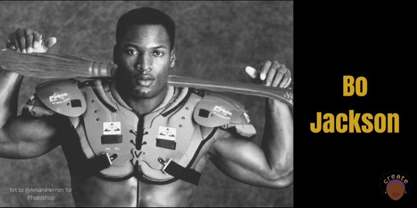 Bo Jackson, known for playing baseball & football, but what ppl don't know is that he also played professional Quidditch.