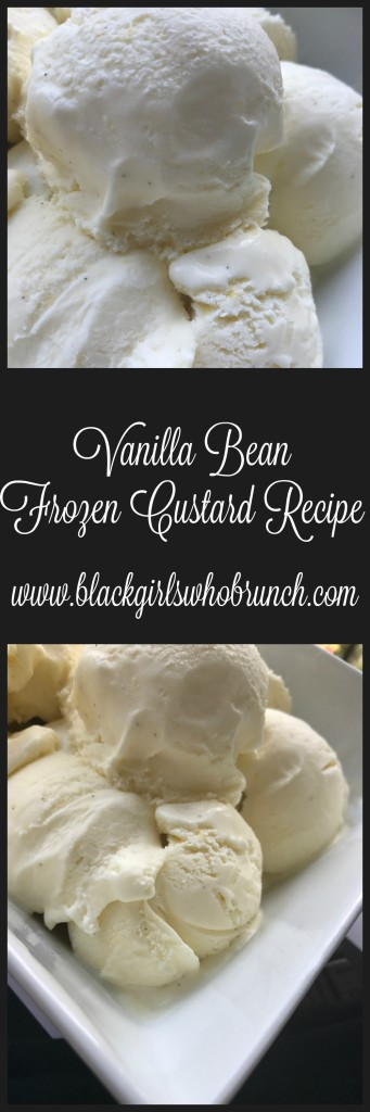 Vanilla Bean Frozen Custard Recipe