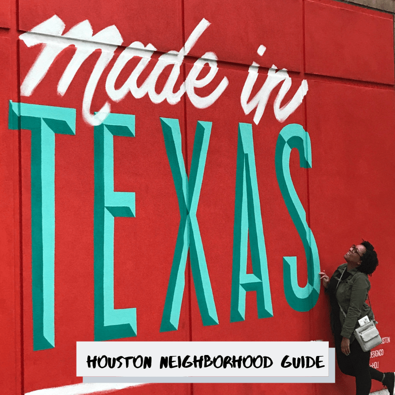 Houston Neighborhood Guide Pt. 1-Cover