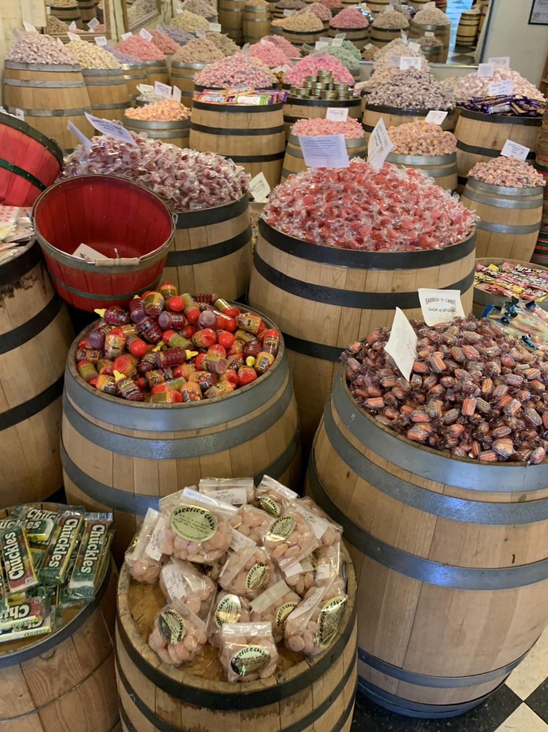 Barrels of Candy