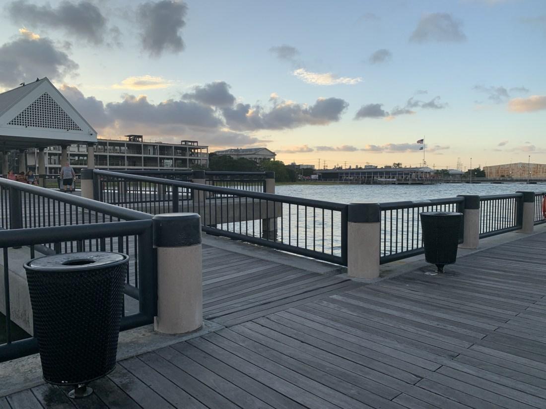 Waterfront Charleston pier