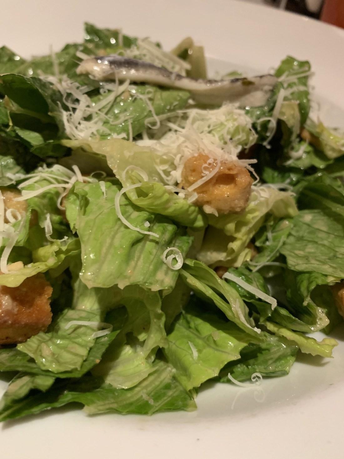 Tableside Caesar Salad
