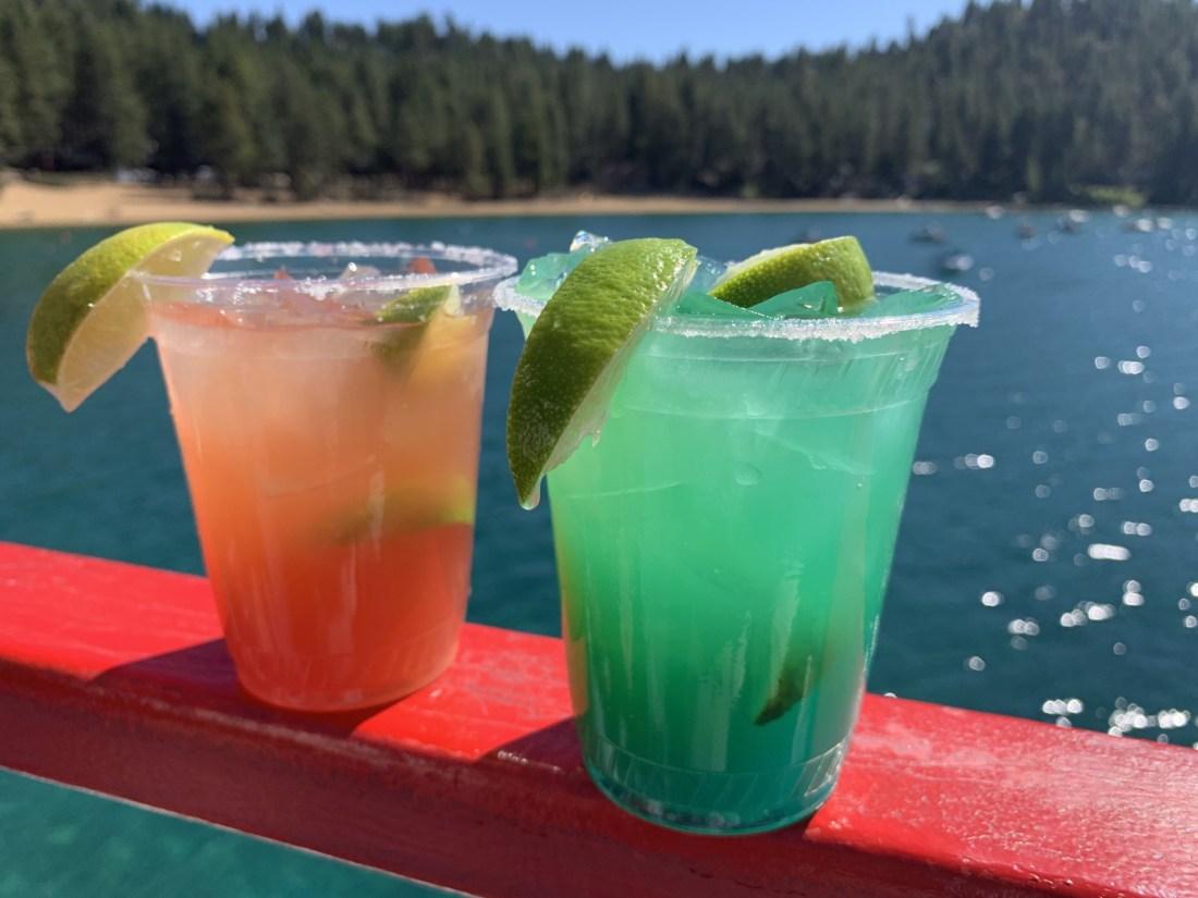 Drinks at Lake Tahoe