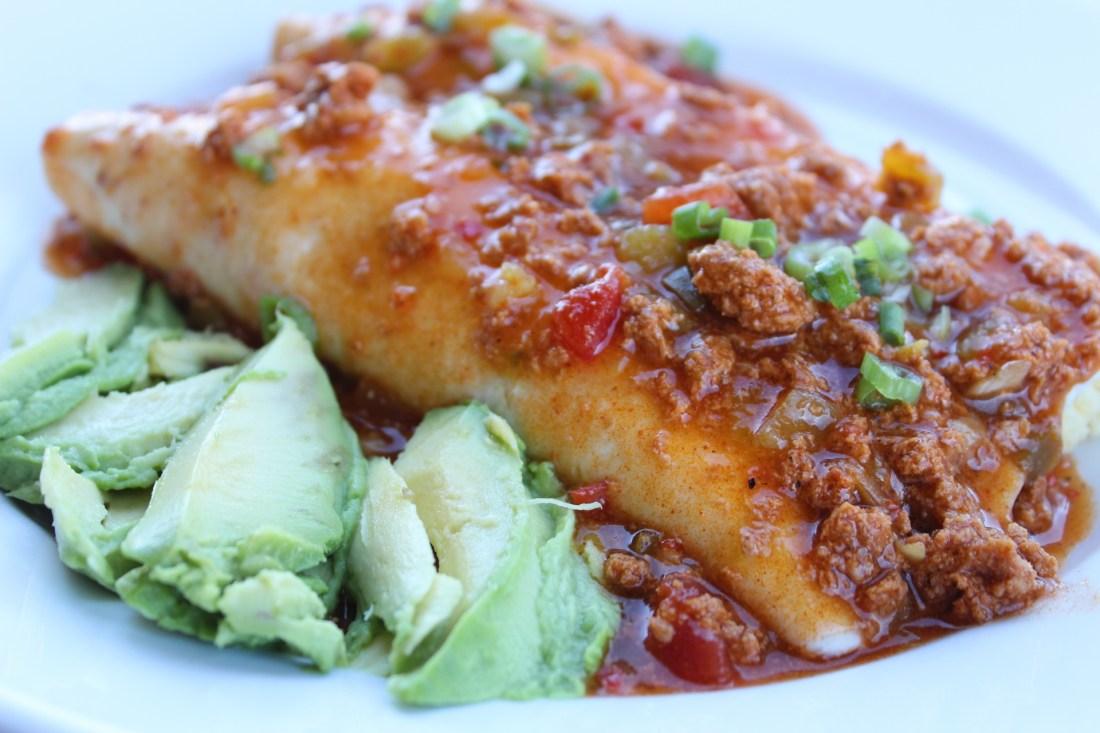 Plate of Enchiladas