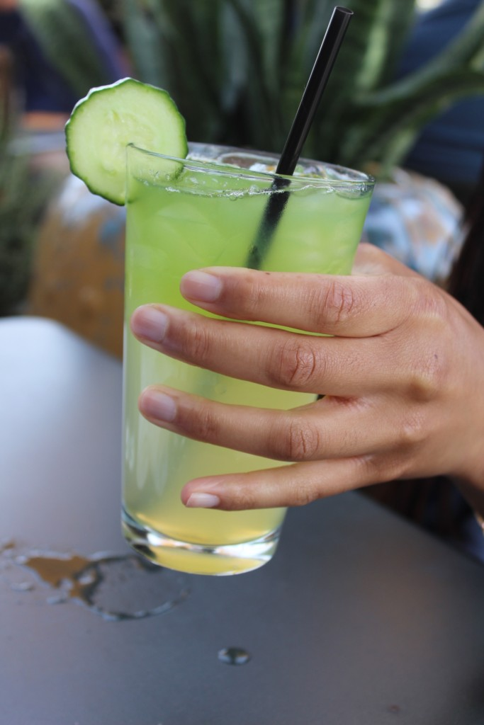 Postino's Brunch -Cucumber Honey Lemonade