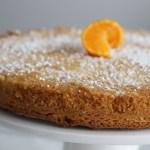 Almond Flour Olive Oil Cake with Orange Garnish