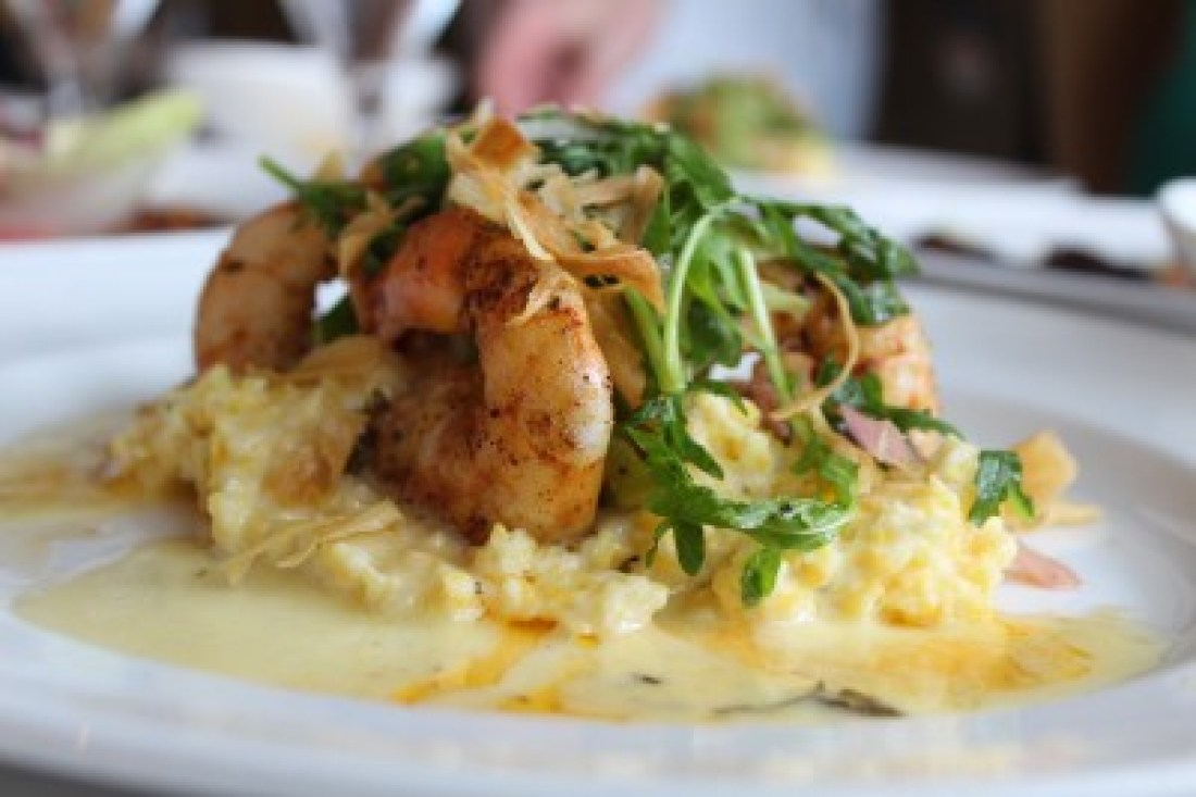 Brennan's of Houston-Shrimp and Grits