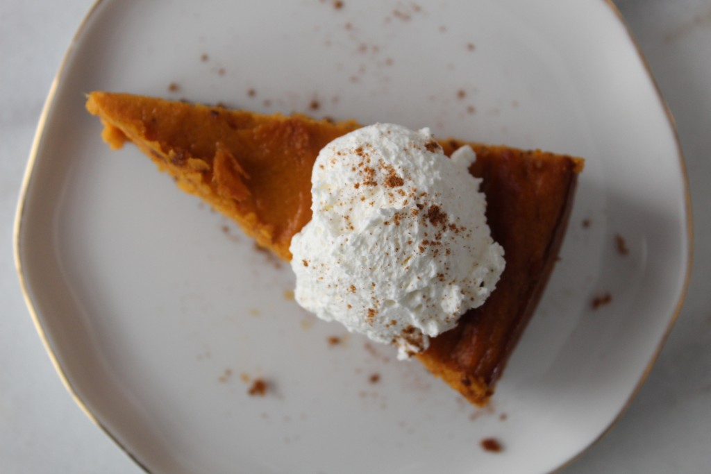 Graham Cracker Crust Sweet Potato Pie-8