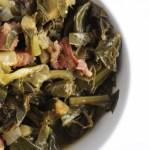 Bowl of Smoked Collard Greens