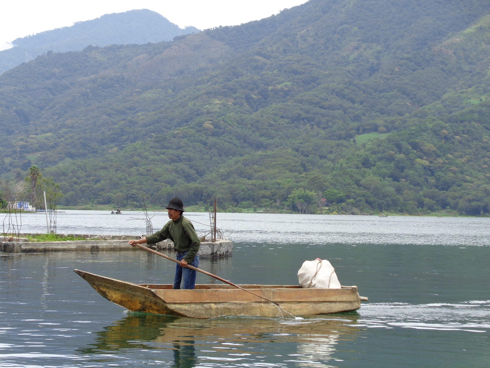 Fisherman-guatemala