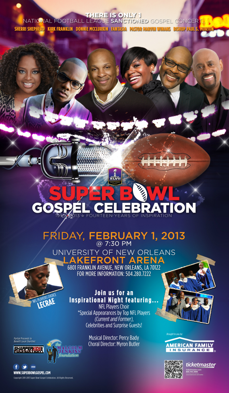 The Superbowl Gospel Celebration This Friday In New Orleans