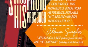 Producer/Songwriter VERNON HILL Presents Debut Album SONGS FROM HIS PRESENCE...Available Now!!!